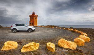 Rundreise mit dem Mietwagen in Island