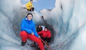 Gletscherwanderung Sólheimajökull