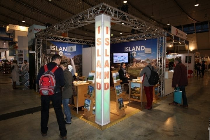 Island ganz nahe – an unserem Stand in Hamburg!