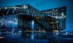 Harpa Konzerthalle in Reykjavík