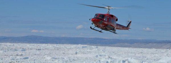 Panoramaflug über die Eisberge im Helicopter ab Ilulisat