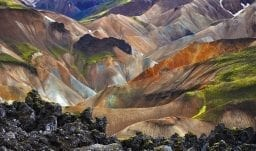 Landmannalaugar im südlichen Hochland Islands