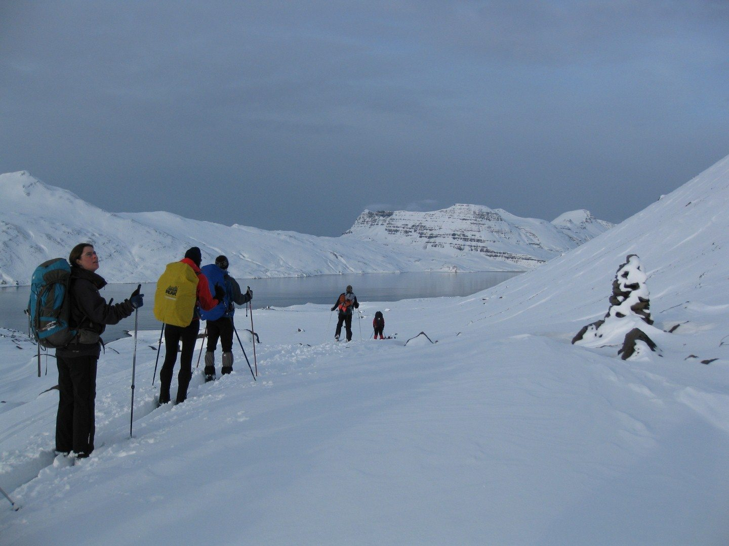 Cross Country Skitour in den Westfjorden Copyright: C.B