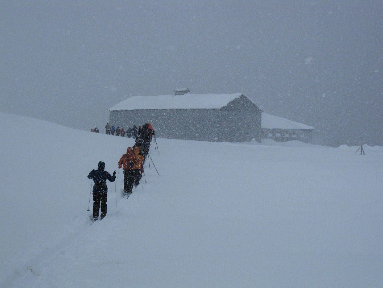 Wetterumschwung bei einer Cross Country Skitour in den Westfjorden Copyright: C.B.