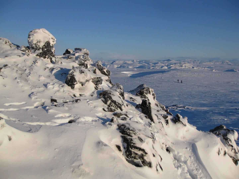 Skitraum auf Island Copyright: C.B.