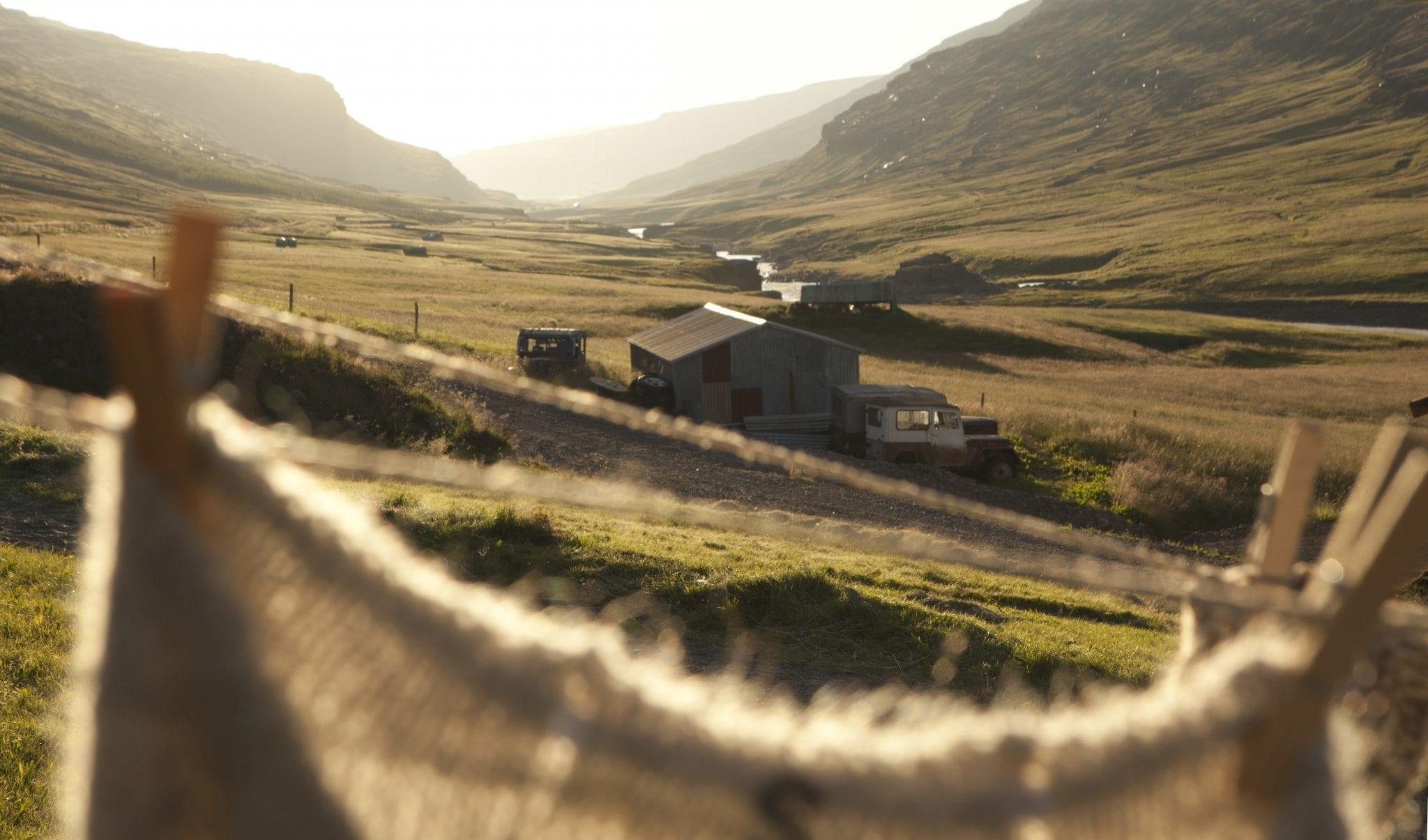 Das Tal Fljótsdalur. Foto: Óbyggðasetur Íslands