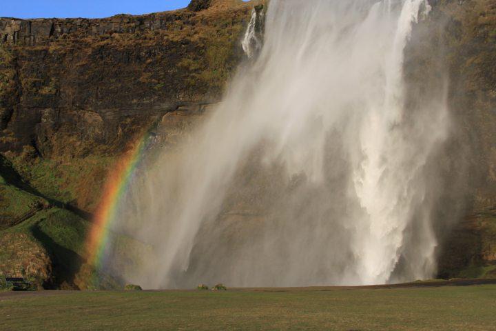 Leben mit dem Wind am Islandtief