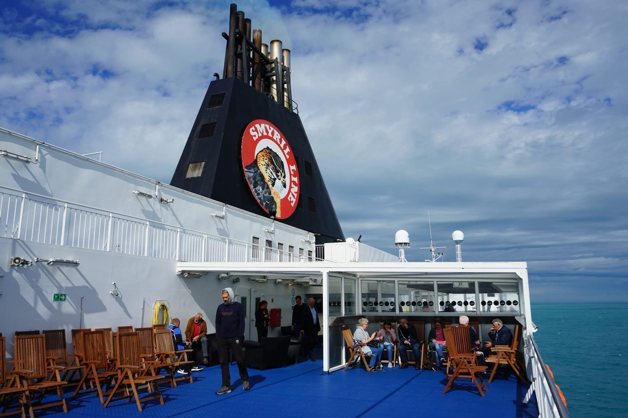 Sky Bar Norröna Smyril Line