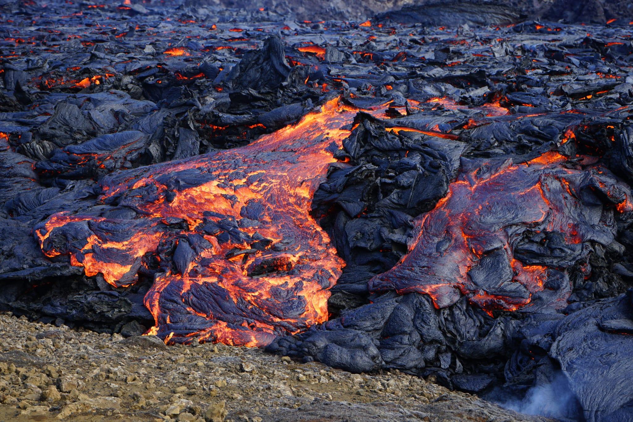 Lava Vulkan Anne Mai 2021 Geldingardalur