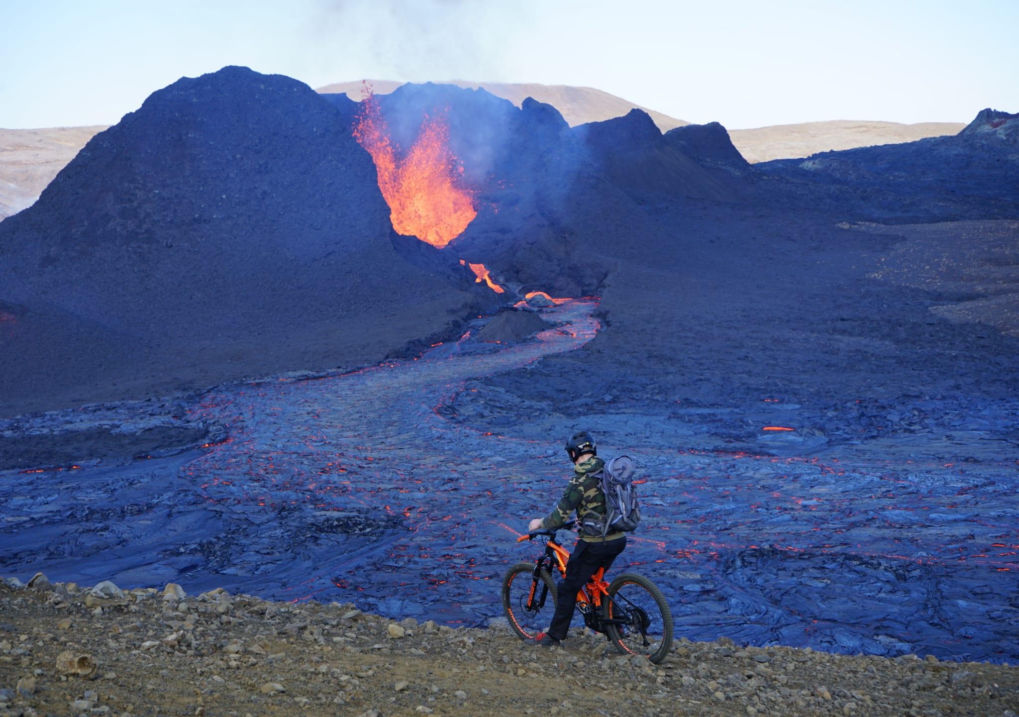 Vulkan Fahrrad Geldingardalur Anne Mai