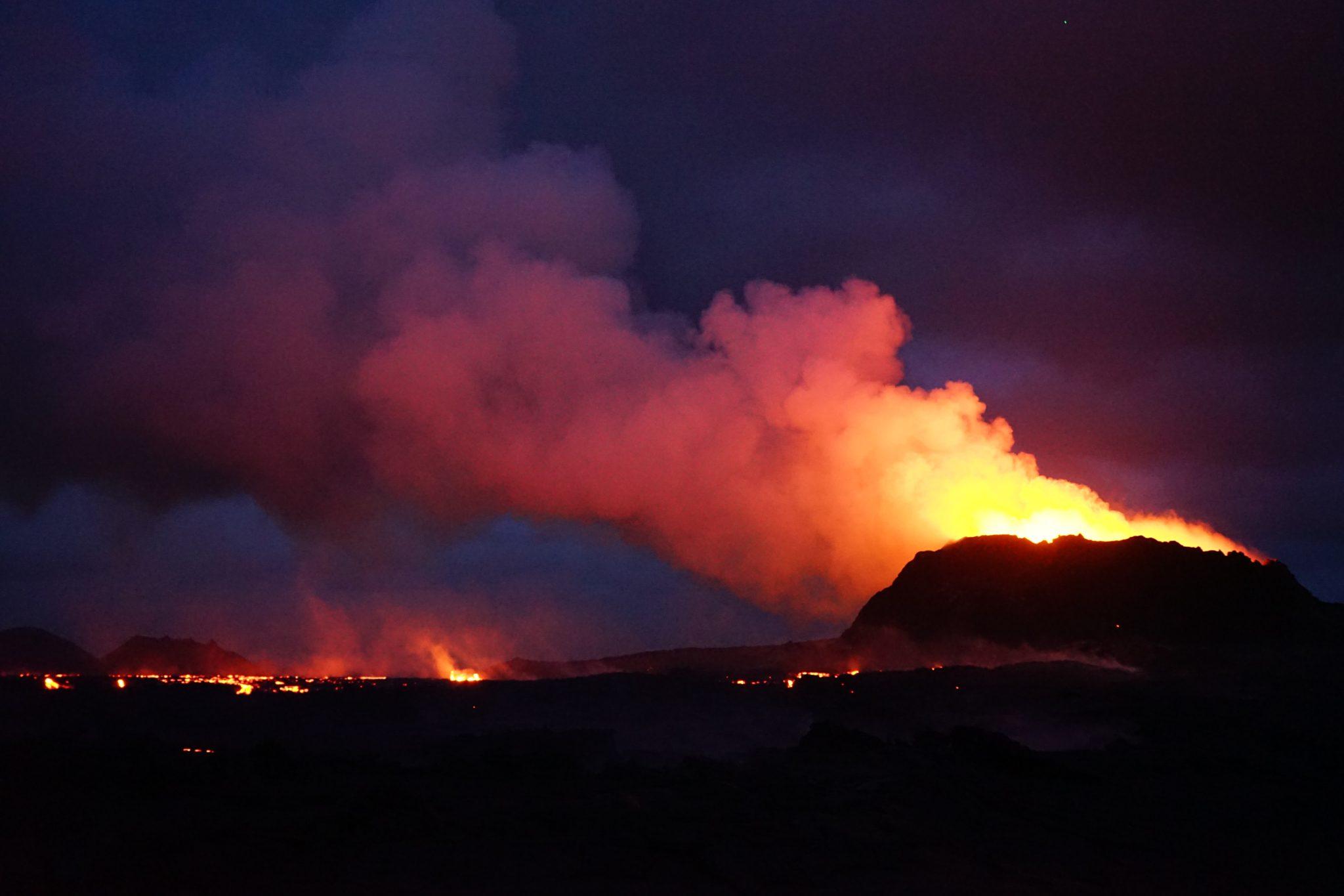 Vulkan Fagradalsfjall September AS